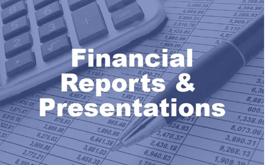 PFB Financial Reports & Presentations